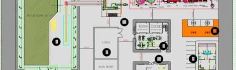 Plano de la tecnología Jiutian 3E Henming