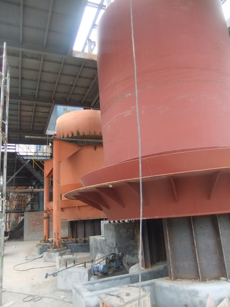 Planta Gasificación 3E Henming en construcción - Motor