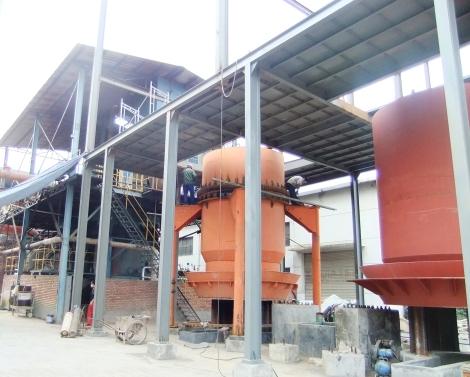 Planta Gasificación - 3E Henming en construcción