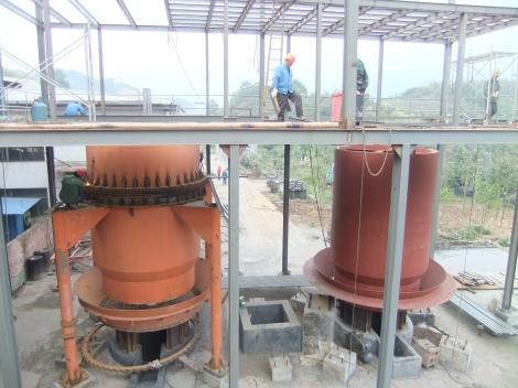 Planta Gasificación 3E Henming en construcción