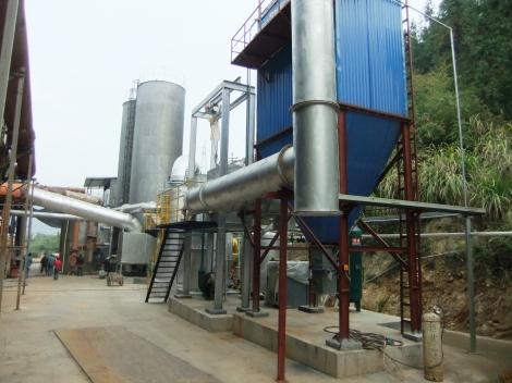 Plantas de Gasificación 3E Henming funcionando en China