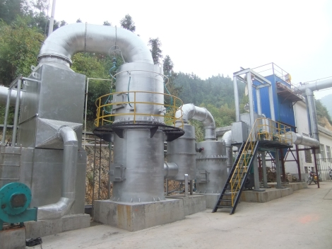 Plantas de Gasificación (proceso) 3E Henming funcionando en China