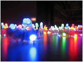 MicroLEDs en Diferentes Colores - GAiA New Technologies Chile