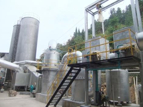 Planta de Gasificación 3E Henming en China