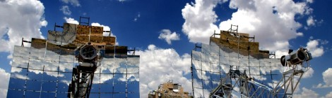 Planta Torre Fotovoltaica - ejemplo antena