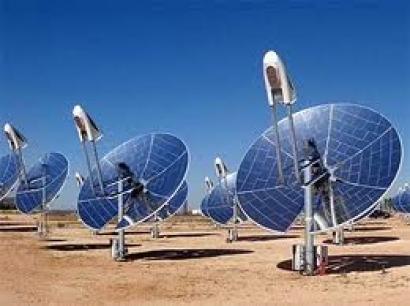 Energía Solar - ejemplo antena sistemas de CPV