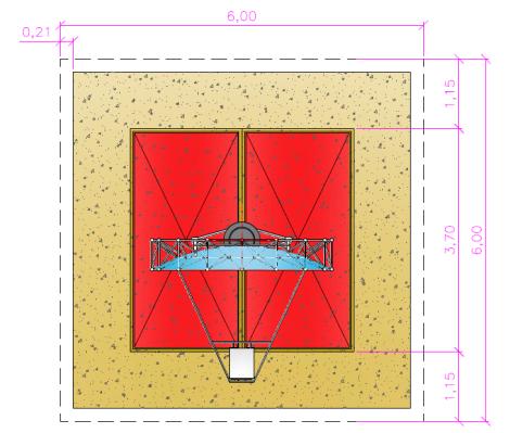 Planta Torre Fotovoltaica - Planos